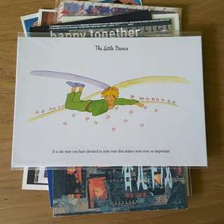 LITTLE PRINCE 小王子 postcard