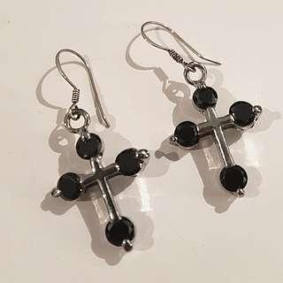 Brand new Cross earrings