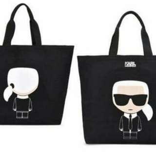 🚚 全新Karl 購物袋