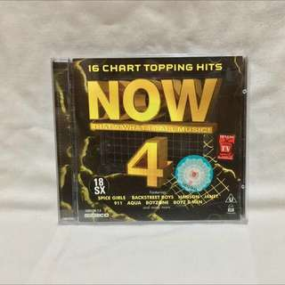 NOW 4 - That's What I Call Music (Music VCD)