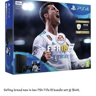 Selling Brand New PS4 Fifa18 Bundle!!!