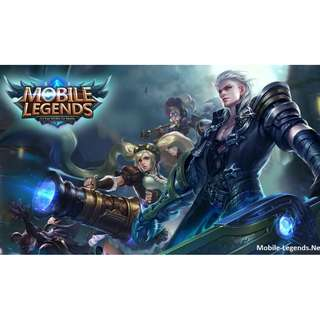 Cheap mobile legends account (android)