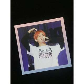 BTS ON STAGE EPILOGUE DVD TAEHYUNG PHOTOCARD