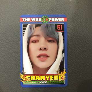 [WTT] Chanyeol Power photocard