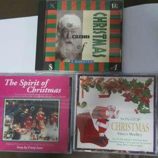 Cd Christmas song 3pcs