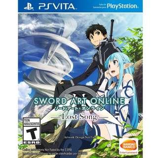 Sword Art Online Lost Song Vita