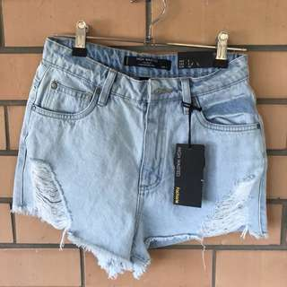 Size8 denim shorts brand new with tags