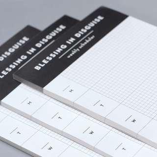 [INSTOCKS] Daily & Weekly Planner (12.5 x 8.5 cm & 29.3 x 13 cm)