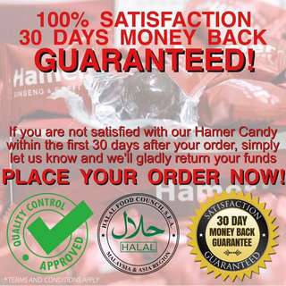 The Original Hamer Coffee & Ginseng Candy