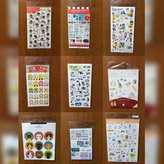 Stickers grab bag