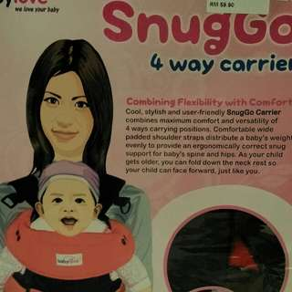 Baby Carrier SnugGo 4 Way Carrier