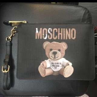 100%真 Moschino clutch bag 聖誕優惠$900