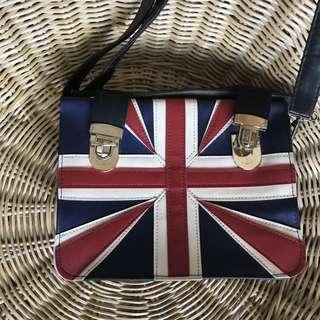 England vintage sling bag