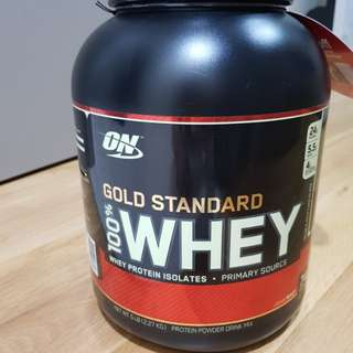 GNC Gold Standard Whey Protein (5lb)
