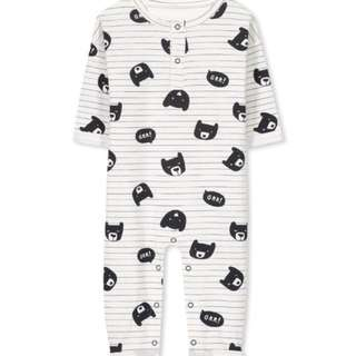 Baju Baby Murah - Cotton On Kids Romper - Grr Bears
