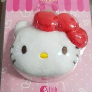 hello kitty plush ez-charm ezlink