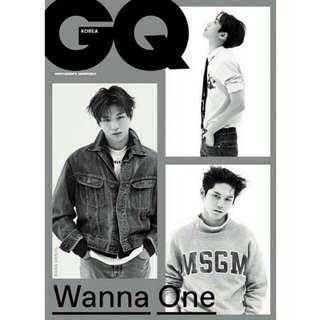 GQ KOREA WANNA ONE