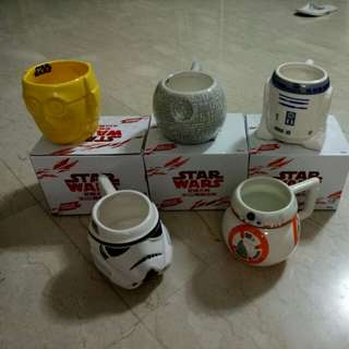 Special edition star wars cups