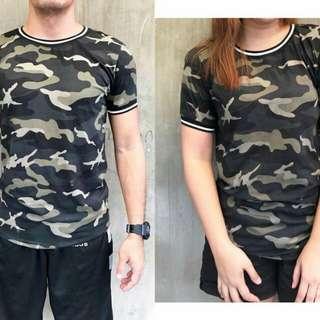 Camouflage Shirt Unisex