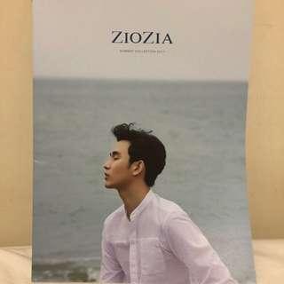 金秀賢代言 Ziozia 商品目錄 Catalog (厚新版)