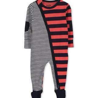 Baju Baby Murah - Cotton On Kids Romper - Spliced mixed stripes