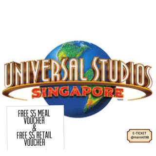 USS Ticket and Other SG Attractions