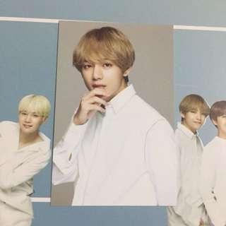 [WTS/READYSTOCK] VT X BTS White photocard - V/Taehyung
