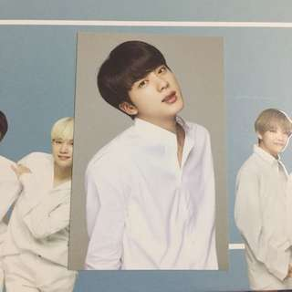 [WTS/READYSTOCK] VT X BTS White photocard - Jin