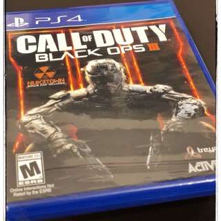 Brand New PS4 Call of Duty