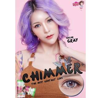 Chimmer Series Contact Lens - Gray/Brown