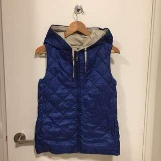 Maxmara reversible down vest