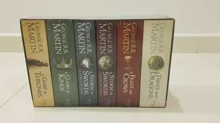 Game of Thrones: Box Set of 6 Books