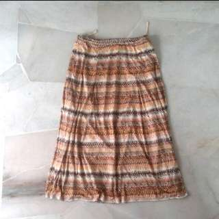 S - Leporte Tribal Skirt