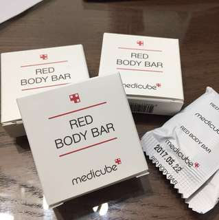Medicube Red Body Bar Travel Size 10g