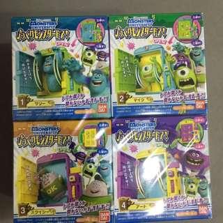 怪獸大學盒子玩具