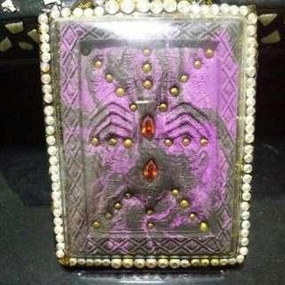 Kruba Krissana Wealth Fetching Spider Amulet