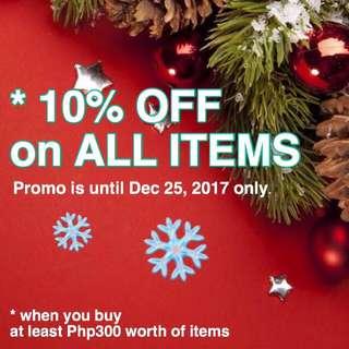 10% Sale