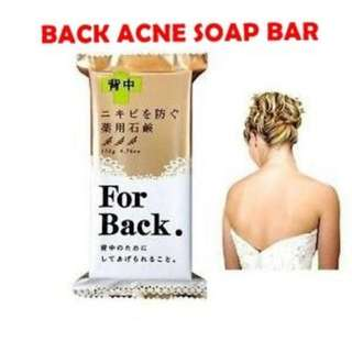 Back Acne Medicated Soap made in Japan