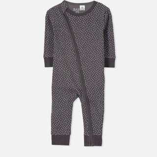Baju Baby Murah - Cotton On Kids Romper - Vanilla Spot