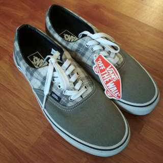 Vans Era LT plaid Grey