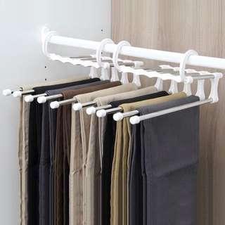 褲子收納衣架 不佔空間 超實用收納幫手