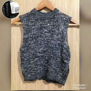 H&M Marble Ribbed Top