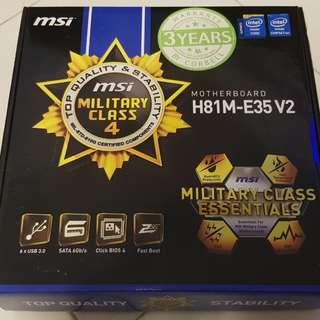WTS: MSI H81M E35 v2