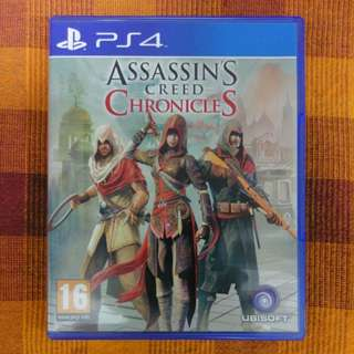 Assassin Creed Chronicles (PS4)