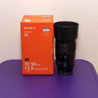 Sony FE 90 mm f2.8 Macro G OSS Lens