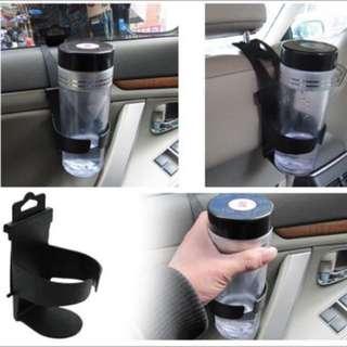Car black stand mount drink bottle cup holder