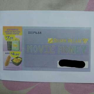 Golden Village Movie Voucher