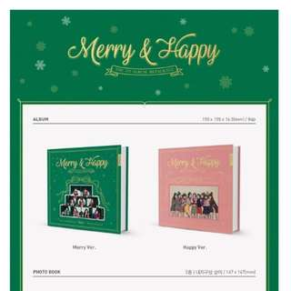 INCOMING READY STOCK Twice-Merry & Happy album