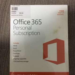 Office 365 Personal BOXED PRODUCT