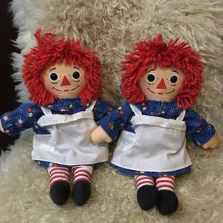 Authentic Vintage 1987-1996 raggedy ann  ragdoll collectors item